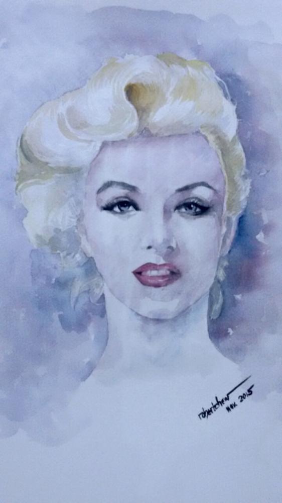 Marilyn Monroe par Bobchew